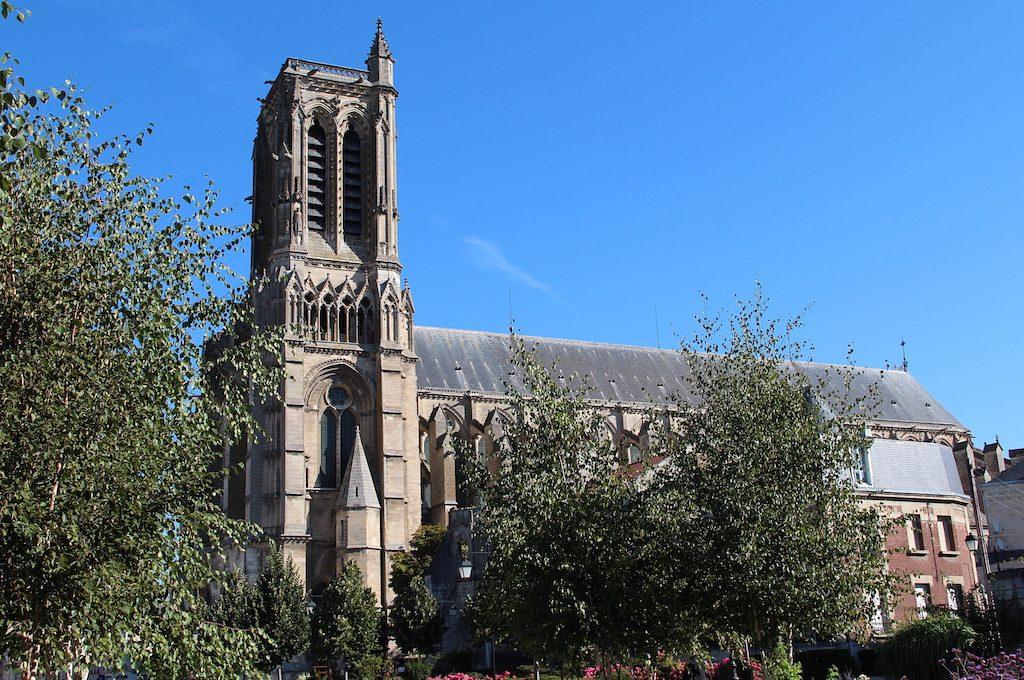 Cathédrale Saint-Gervais-et-Saint-Protais - Soissons (Aisne, France).